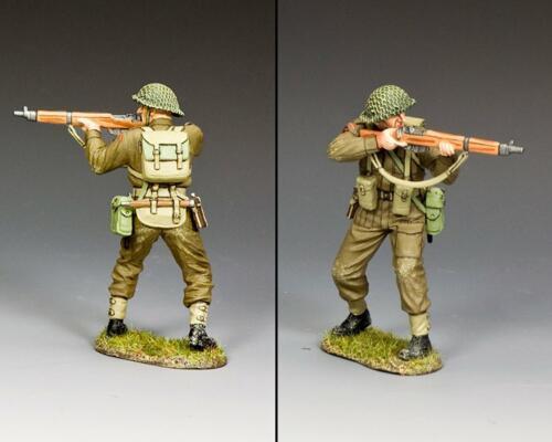 DD354(G) - British Standing Firing with Grass Base - disponible début novembre