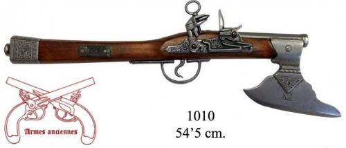 DENIX - Armes anciennes - 1010 - Axe-pistol, Germany 17th. C. - disponible sur commande