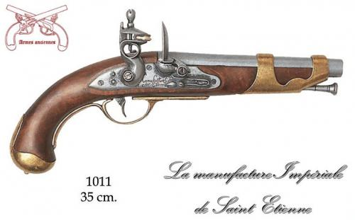 DENIX - Armes anciennes - 1011 - Cavalry pistol, France 1806 - EN STOCK