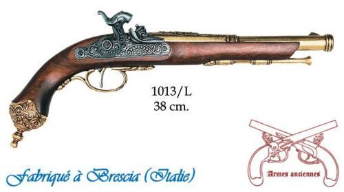 DENIX - Armes anciennes - 1013L - Percussion pistol, Brescia (Italia) 1825 - disponible sur commande