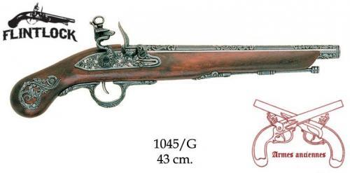 DENIX - Armes anciennes - 1045G - Flintlock pistol, Italy 18th. C. - disponible sur commande