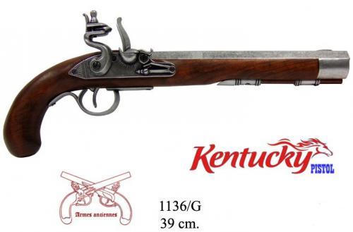 DENIX - Armes anciennes - 1136G - Kentucky pistol, USA 19th. C. - disponible sur commande