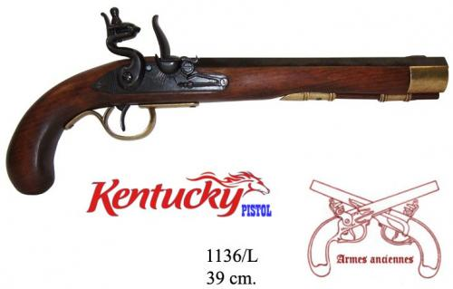 DENIX - Armes anciennes - 1136L - Kentucky pistol, USA 19th. C. - EN STOCK