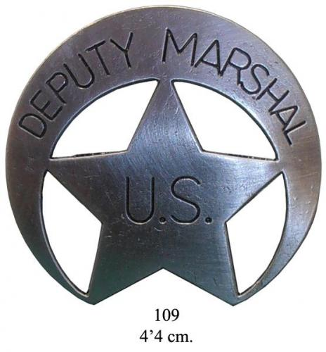 DENIX - Badge -109 - US Deputy Marshal badge - EN STOCK