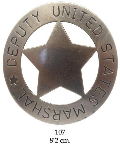 DENIX - Badge - 107 - Deputy United States Marshal badge - EN STOCK