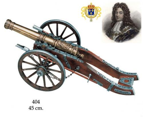 DENIX - Canon - 404 - French cannon Louis XIV, 18th. Century - disponible sur commande
