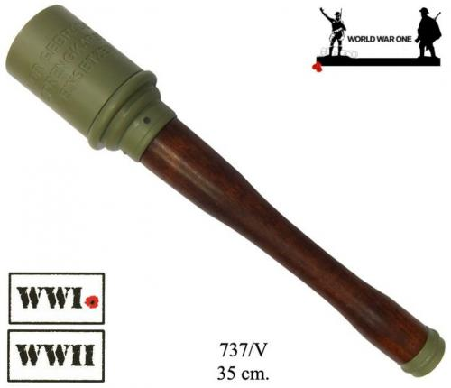 DENIX - Grenade - 737V - Stielhandgranate M-24 grenade, Germany 1915 (World War I and II) - disponible sur commande