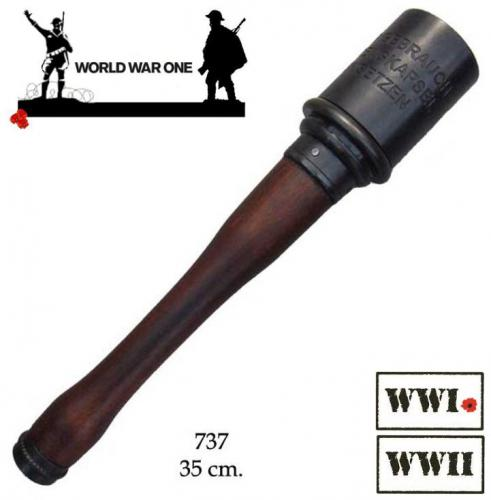 DENIX - Grenade - 737 - M-24 grenade Stielhandgranate, Germany (used in World War I and II) - disponible sur commande