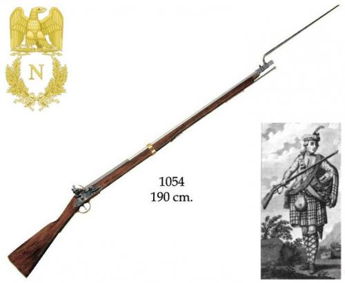 DENIX - Napoleonic Period - 1054 - British Brand Bress Musket (Land Pattern Musket) used during the Napoleonic Wars (1799- 1815) - EN STOCK
