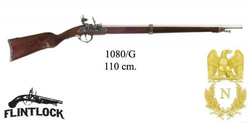 DENIX - Napoleonic Period - 1080G - Flintlock rifle, France 1807 - disponible sur commande