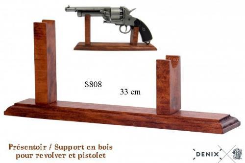 S808 - DENIX - Présentoir - Support pour revolver et pistolet - EN STOCK