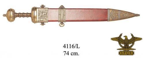 DENIX - Roman Period - 4116L - Julius Caesar s sword, 1st. Century b.C - EN STOCK