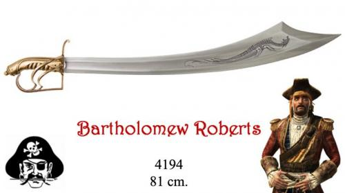 DENIX - Sabre - 4194 - Bartholomew Roberts 1682-1722 pirate sabre, Welsh 18th. C. - disponible sur commande
