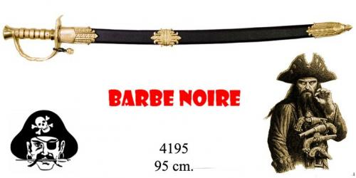 DENIX - Sabre - 4195 - Edward Teach (Blackbeard ou Barbe Noire) pirate sabre, 1680-1718, England 18th C. - disponible sur commande