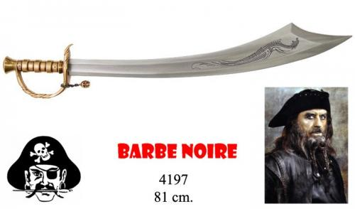 DENIX - Sabre - 4197 - Edward Teach (Blackbeard dit Barbe Noire) pirate sabre, 1680-1718, England 18th C. - disponible sur commande