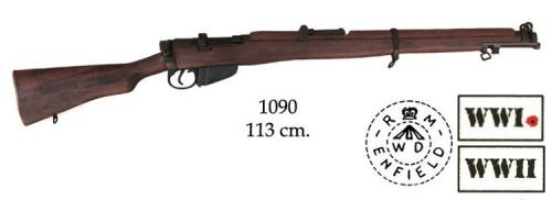 DENIX - WWII - 1090 - Lee-Endfield SMLE rifle, United Kingdom - disponible sur commande