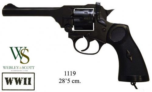 DENIX - WWII - 1119 - Mk 4 revolver, designed by Webley, UK 1923 - EN STOCK