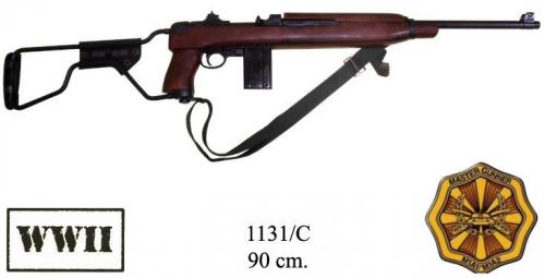 DENIX - WWII - 1131C - M1A1 carbine, paratrooper model with folding buttstock, USA, 1941, (vendu sans bretelle) - EN STOCK
