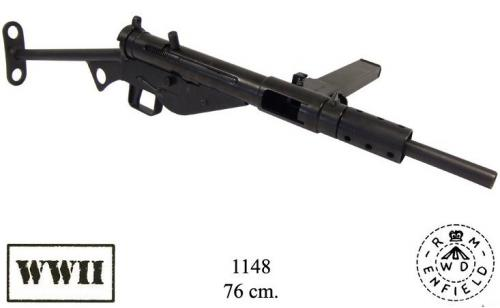 DENIX - WWII - 1148 - Sten Mark II, 9 mm caliber, produced by RASF Enfield (United Kingdom 1940) - EN STOCK