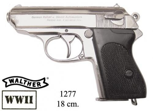 DENIX - WWII - 1277NQ - German Waffen-SSPPK Semiautomatic by Walther, favourite of most german officers in Wolrd War II - disponible sur commande