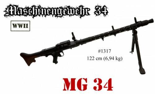 DENIX - WWII - 1317 - MG 34 - disponible sur commande (attention  à commander de suite car les délais de livraison vont être longs)