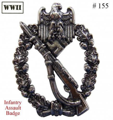DENIX - WWII - 155 - Infantry Assault Badge - EN STOCK