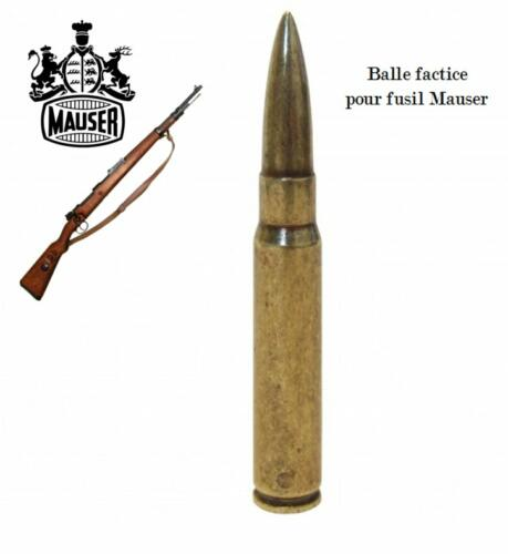 DENIX - WWII - BA60 - Balle factice pour fusil Mauser - EN STOCK
