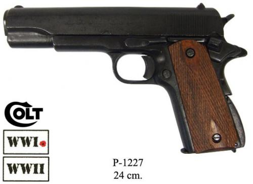 DENIX - WWI and WWII - P1227 - M1911 pistol, made by Colt, USA 1911 - disponible sur commande