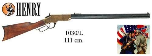 DENIX - carabine - 1030L - Henry rifle with octogonal barrel (ACW) 1860 - EN STOCK