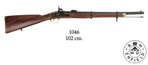DENIX - carabine - 1046 - P60 rifle, made by Enfield, England 1860 - EN STOCK