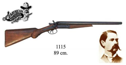 DENIX - carabine - 1115 - Wyatt Earp double barrel shorgun, USA 1881 - EN STOCK