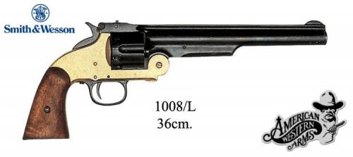 DENIX - revolver - 1008L - Schofield Cal.45 revolver Smith and Wesson, USA 1869 - EN STOCK