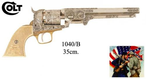 DENIX - revolver - 1040B - American Civil War Navy - Samuel Colt, USA 1851 - EN STOCK