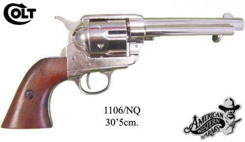 DENIX - revolver - 1106NQ - Calibre 45 peacemaker revolver 5,1 2 - S.Colt, USA 1873 - EN STOCK