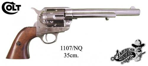 DENIX - revolver - 1107NQ - Calibre 45 peacemaker revolver 7,1 2 - S. Colt, USA 1873 - disponible sur commande