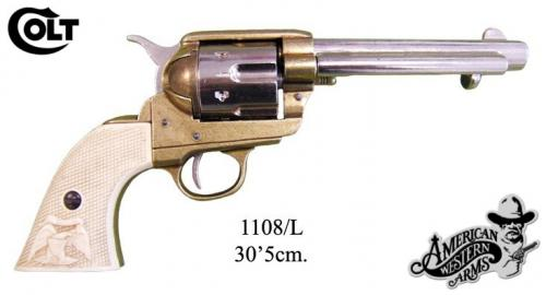 DENIX - revolver - 1108L - Calibre 45 peacemaker revolver 5,1 2 - S. Colt, USA 1873 - disponible sur commande