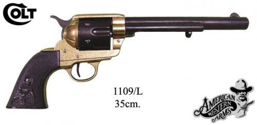 DENIX - revolver - 1109L -Calibre 45 peacemaker revolver 7,1 2 - S. Colt, USA 1873 - disponible sur commabde