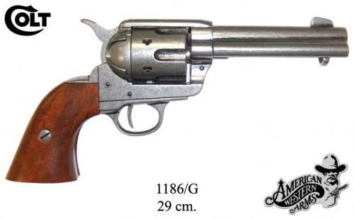 DENIX - revolver - 1186G - Calibre 45 peacemaker revolver 4,75  - S.Colt, USA 1873 - EN STOCK
