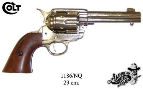DENIX - revolver - 1186NQ - Calibre 45 peacemaker revolver 4,75 - S.Colt, USA 1873 - disponible sur commande