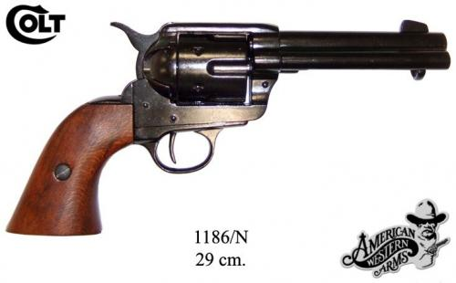 DENIX - revolver - 1186N - Calibre 45 peacemaker revolver 4,75 - S. Colt, USA 1873 - disponible sur commande