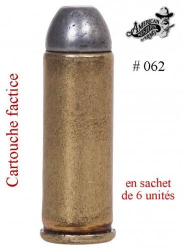 DENIX - revolver - 62 - Balle de revolver .45, USA 1880 (Sachet de 6 unités) - EN STOCK