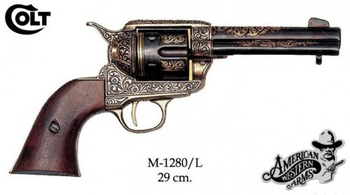 DENIX - revolver - M1280L - Calibre 45 peacemaker revolver 4,75 - S. Colt, USA 1873 - disponible sur commande