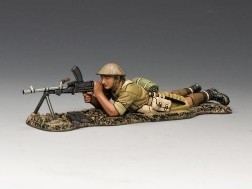 EA081 - Lying Prone Bren Gunner