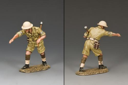 EA090(BR) - Standing with Ramrod (Brit.)