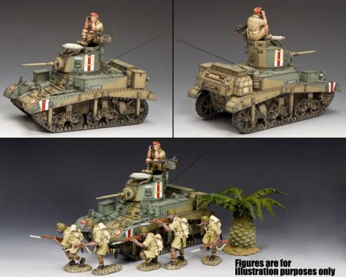 EA106 - M3 Stuart Honey Desert tank