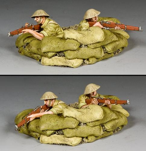 EA124 - Trench and Riflemen