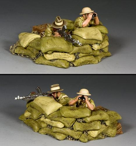 EA125 - Trench and Bren Gun Team