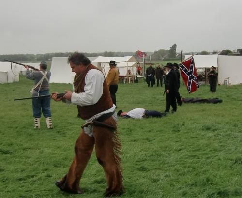 Erquelinnes 2015 - Civil War, les Sudistes