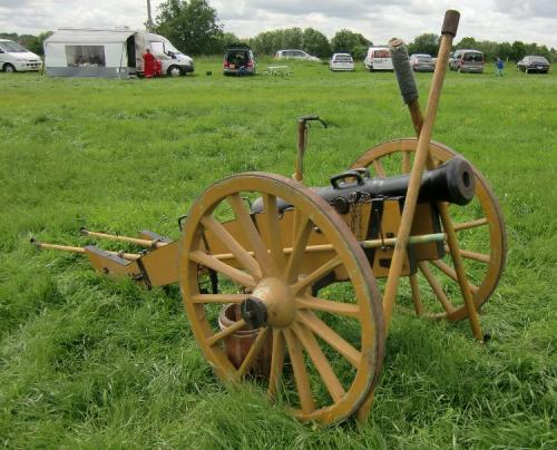 Erquelinnes 2015 - Civil War Cannon