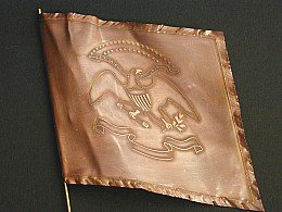 F06 - Union Infantry Regimental (eagle) flag - PAS DE STOCK
